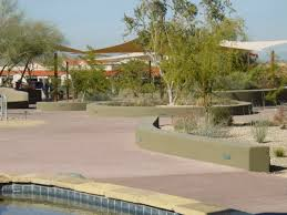 gardens desert forest golf club covered sanderson lincoln pavilion in the carefree