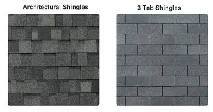 architectural shingles vs 3 tab. Interesting Architectural Flat Roofs By Pegram Shingle Comparison Roofing Contractor Norfolk  Portsmouth Chesapeake Inside Architectural Shingles Vs 3 Tab