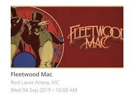 Fleetwood Mac Tickets Concerts Gumtree Australia Maitland