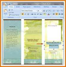 microsoft office catalog templates 6 microsoft office brochure templates itinerary template sample