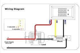 aliexpress com buy dc 4 5 30v 100a red blue led dual panel volt 30v 50a wire