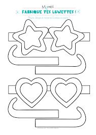 Lunettes Imprimer Et Colorier Momes Net