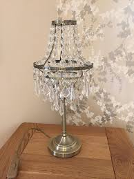 gorgeous pair of matching bhs chandelier lamps