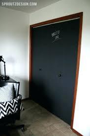 painted closet door ideas. Chalkboard Doors Closet Door Size Ideas Painted