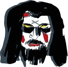 Face War Paint Designs Evil Mask Face War Paint Png Picpng