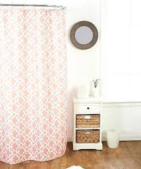 salmon shower curtain look at this salmon shower curtain roller hooks on today salmon fabric shower