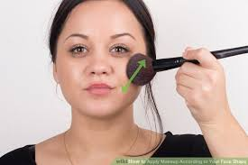 image led apply makeup according to your face shape step 19
