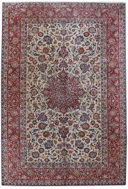 image is loading persian isfahan signed rug ed rugs handmade ivory