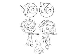 Yo Yo Cartone Animato Da Colorare