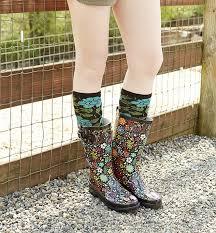 garden boots for women. Plain Garden Womens Garden Play Rain Boots  Black Western Chief On For Women