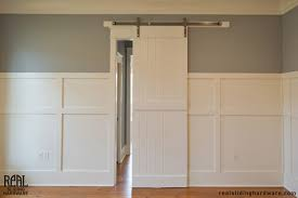 sliding barn doors. White Sliding Barn Doors A
