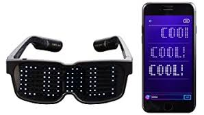 CHEMION - Unique Bluetooth <b>LED Glasses</b> - Display: Amazon.in ...