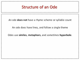 best writing poetry images writing poetry  structure of an ode