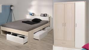 Schlafzimmer Set 2 Tlg Inkl 140x200 Bett Bettkasten U Kleiderschrank