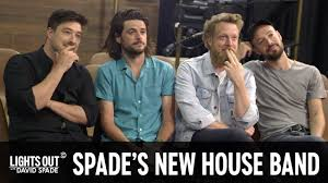 Lights Out Band Mumford Sons Interview To Be Spade S House Band Lights Out With David Spade
