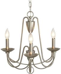 allen roth wintonburg 18 03 in 3 light brushed nickel williamsburg candle