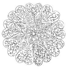Mandala Disegno Da Colorare Gratis 186 Difficile Complesso Disegni
