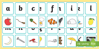 In many languages the spelling of an to provide correct information between people with a different language background one might use a spelling alphabet, where every letter and number is. Free Printable Alphabet Cards With Pictures Teaching Alphabet