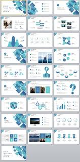 Custom Creative Annual Report Powerpoint Template Pcslide