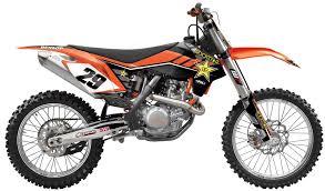 ktm rockstar factory team motocross complete graphics kit 1stmx