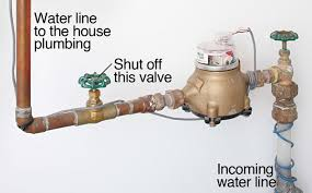 turn off water valve, avoid home catastrophes while on vacation