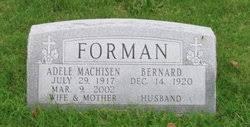 Bernard Forman (1920-unknown) - Find A Grave Memorial