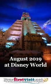 august 2019 crowds at walt disney world