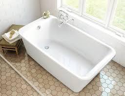 54 x 30 bathtub with center drain nsty