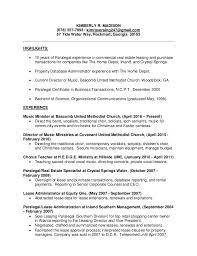 Resume 2017 Best Kimberly Madison Paralegal Resume 24