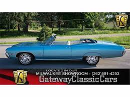 what new car did chevy release in 19681968 Chevrolet Impala for Sale on ClassicCarscom  18 Available