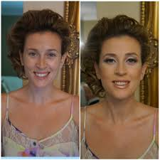 before after bridal makeup