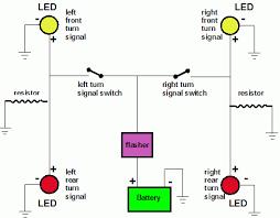 turn signal wiring diagram motorcycle all wiring diagrams led turn signal resistor wiring diagram nodasystech com