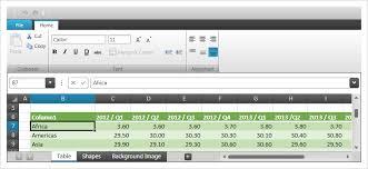 spreadsheet ponent wpf ultimate ui
