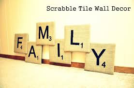 Scrabble Wall Tiles Accessories Top Notch White Scrabble Wall Letters On Light Blue