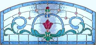 stain glass transoms stained glass transom patterns glass style arched transom custom at glass by design