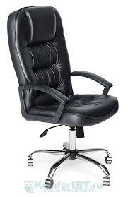 Купить Офисное <b>кресло TetChair СН9944 Хром</b>, черный 36-6 в г ...
