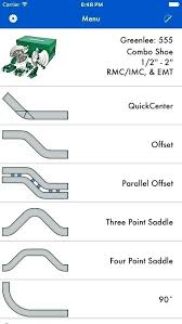 Offset Chart For Conduit Emt Bend Bending Right Angle Bend Conduit Bending Offset Emt