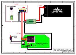 24v scooter wiring diagram schematic 36v Motorcycle Wiring Diagram 500 Watt Bike Controller