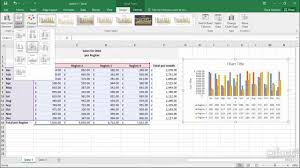 Quick Layouts Excel 2016 Charts