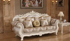 Traditional Living Room Set 691 Serena Traditional Living Room Set In Pearl White By Meridian