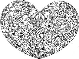 Small Picture Colored Zentangles Hearts Free doodle art coloring pages