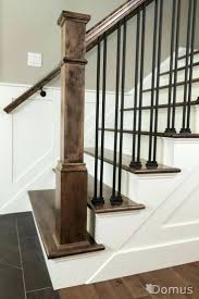 ... Full Image for Painting Wood Banister Best Stair Spindles Ideas On  Staircase Spindles Best Painted Stairs ...