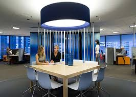 Characteristics of the Modern Office Interior Planning High Land 95