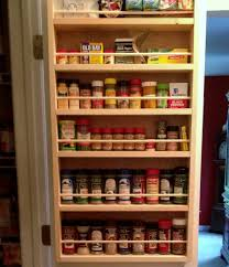 Spice Rack Ideas Spice Rack On Inside Of Pantry Doors Ideas For The House
