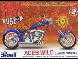 aces wild revell motorcycle model kit update 2 youtube