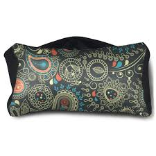 Paisley Bag Designer Amazon Com Eye Pillow Paisley Design Designer Mens Portable