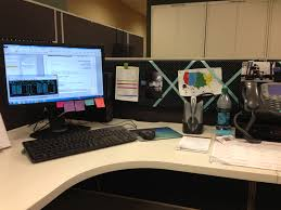 Image of: Simple Cubicle Decor