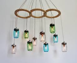 Diy Kitchen Lighting Furniture Creative Diy Upcycled Hanging Glass Chandelier Lighting