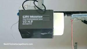 liftmaster garage door openers troubleshooting opener problem safety sensors fault codes error code 14