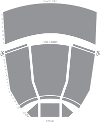 Ryman Seating Chart With Seat Numbers James K Polk Theater Seat Map Tpac